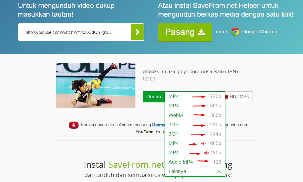 bagaimana cara download video dari youtube di laptop