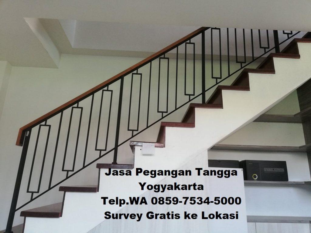 jasa pembuatan pegangan tangga jogja